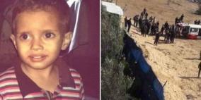 بالصور.. وداع حزين للطفل محمود شقفة في رفح