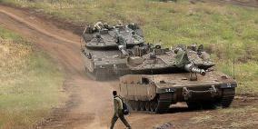 دبابات اسرائيلية تتوغل في المنطقة منزوعة السلاح بالجولان