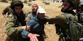 الاحتلال يحتجز 3 مواطنين ويستولي على جرافة غرب جنين