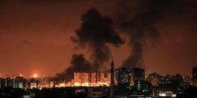 طائرات الاحتلال تقصف موقعا شمال غزة