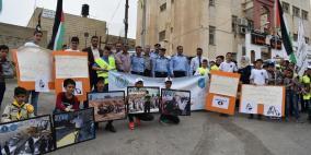 مسيرة كشفية ومعرض متنقل في القدس بمناسبة اسبوع المرور