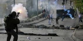 إصابات بالرصاص خلال مواجهات في أبو ديس