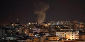 طائرات الاحتلال تدمر عمارة سكنية ثانية في مدينة غزة