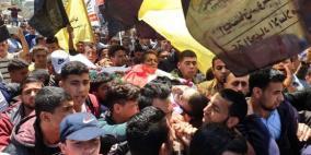 غزة تشيع جثامين شهداء العدوان الإسرائيلي