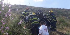 """صور: وفاة 3 فتيات من القدس بحادث انقلاب """"تركترون"""""""