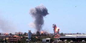 شهيد واصابات جراء قصف اسرائيلي عنيف على قطاع غزة