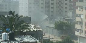 بالفيديو: لحظة قصف منزل في الشجاعية وتدميره بالكامل