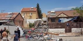 3 قتلى اسرائيليين و115 مصابا جراء اطلاق الصواريخ من غزة