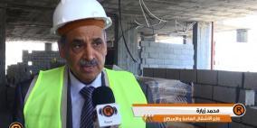 """(فيديو).. وزير الاشغال لـ""""رايـة"""": مشاريع في كافة المجالات ستنفذ في غزة"""