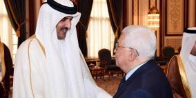 الرئيس يشكر أمير قطر على تخصيص 480 مليون دولار لفلسطين