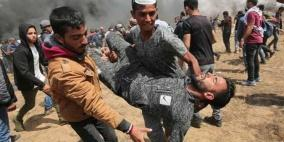 إصابة شاب برصاص الاحتلال شمال قطاع غزة