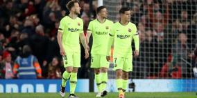 برشلونة وفر 5 مليون يورو من الهزيمة القاسية أمام ليفربول