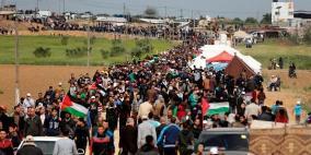 غزة: اضراب شامل بذكرى النكبة ودعوات لمسيرات حدودية