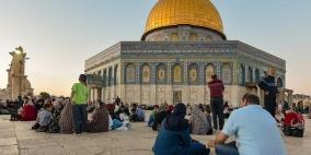 القدس تستعد للجمعة الأولى من شهر رمضان