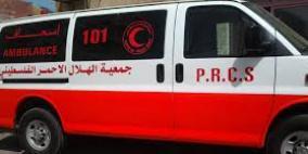 رام الله: مصرع مواطن نتيجة لحادث سير ذاتي