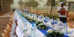 استعدادات لتنظيم أكبر مائدة إفطار في العالم
