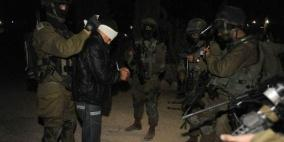 بالأسماء .. الاحتلال يعتقل 12 مواطنا من الضفة الغربية