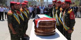 تشييع جثمان رباح مهنا في غزة