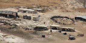 الاحتلال يهدم خيمة سكنية بمسافر يطا