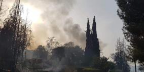 حرائق غابات تستعر في إسرائيل بسبب موجة حارة