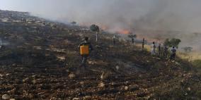 الدفاع المدني يتعامل مع 302 حريق