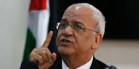 عريقات لصحيفة أمريكية: ترمب يريد إعلان فلسطيني بالاستسلام