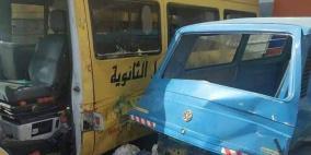 وفاة وست إصابات في حادث سير غرب نابلس