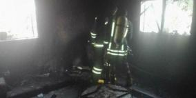 جنين: إصابة فتاتين بالاختناق في حريق داخل منزل