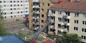"""انفجار """"غامض"""" يضرب بنايات في السويد"""