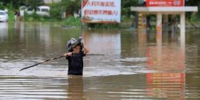 مقتل 5 وتقطع السبل بالآلاف بسبب المطر في الصين