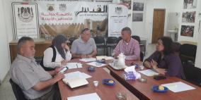 """اللجنة الفنية لمشروع """"أكاديمية الشباب من اجل الديمقراطية"""" تعقد اجتماعا لها"""