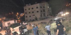 جيش الاحتلال يعلق على الاشتباك المسلح في نابلس