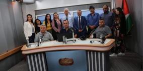 وفد إعلامي من نقابة الصحفيين العرب بالداخل يزور راية