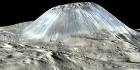 ناسا تكشف صورة لجبل لم تر البشرية مثله