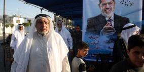 عزاء لمرسي في قطاع غزة
