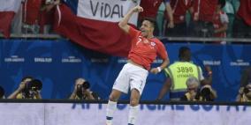 سانشيز يقود تشيلي لدور الثمانية في كوبا أميركا