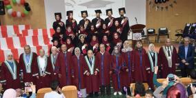 كلية المقاصد الجامعية للتمريض تحتفل بتخريجالفوج السادس