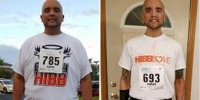 يخسر 200 كيلوغرام من وزنه بفضل الجري
