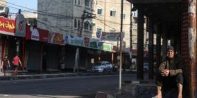 الاضراب يشل مرافق الحياة في غزة احتجاجا على ورشة المنامة