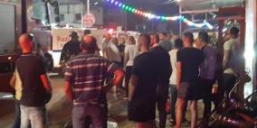 اندلاع حريق في محل تجاري مجد الكروم