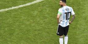 """ميسي يندد بـ""""هراء"""" حكم مباراة البرازيل"""