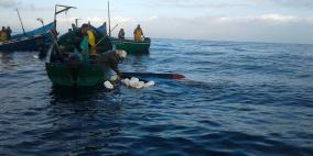 غرق 26 شخصا في انقلاب قارب صيد
