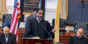 فلسطيني قاضيا للقضاة في أميركا