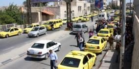 الشرطة تضبط 10 مركبات خاصة تنقل المواطنين مقابل أجر في الخليل