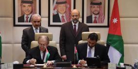 ما هي المساحة المتاحة لزيادة التبادل التجاري بين فلسطين والاردن؟
