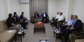 تفاصيل اجتماع وفد المخابرات المصرية مع قيادة حماس