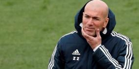 زيدان يغادر معسكر ريال مدريد