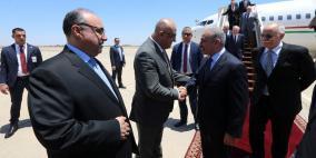 اشتية يصل العراق على رأس وفد وزاري ورجال أعمال