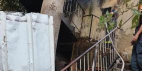 مصابان في حريقين بطمرة والناصرة داخل الخط الأخطر