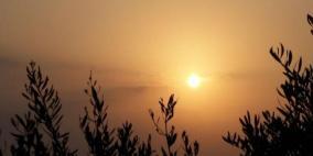 الطقس:  الحرارةأعلى من معدلها السنوي العام بحدود 3 درجات